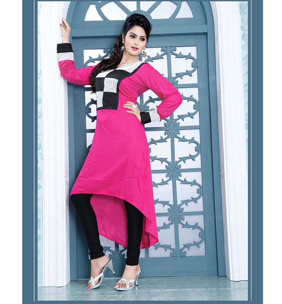 Gorgeous summer collection of desginer kurtis you are for Best check designs