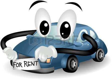 car-for-rent-with-clipping-path