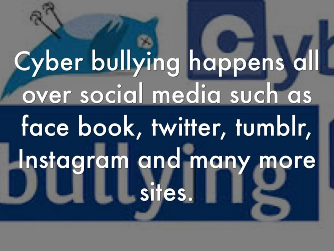 cyber bullying, cyber crime via social media
