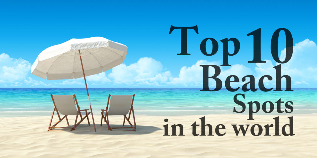 10 top beach vacation spots in the world anextweb for Top ten best vacation spots