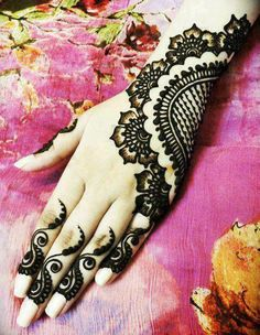 top 5 hand back mehndi design