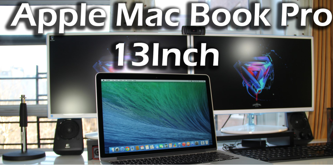 Top 10 Laptops for Data Analysis 2016-Apple Mac Book Pro 13 inch