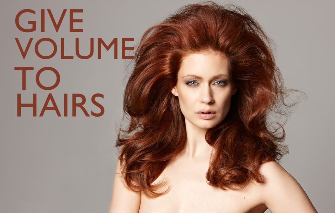 how to make thin hair have volume