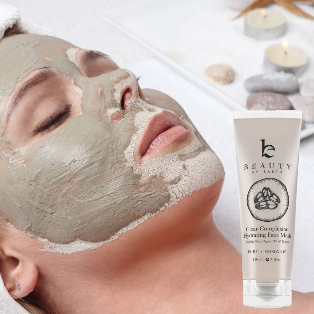 Facial Mask - Clear Complexion Hydrating Face Mask - With Natural and Organic Ingredients Treatment for Acne, Deep Pore Cleansing & Spot Treatment