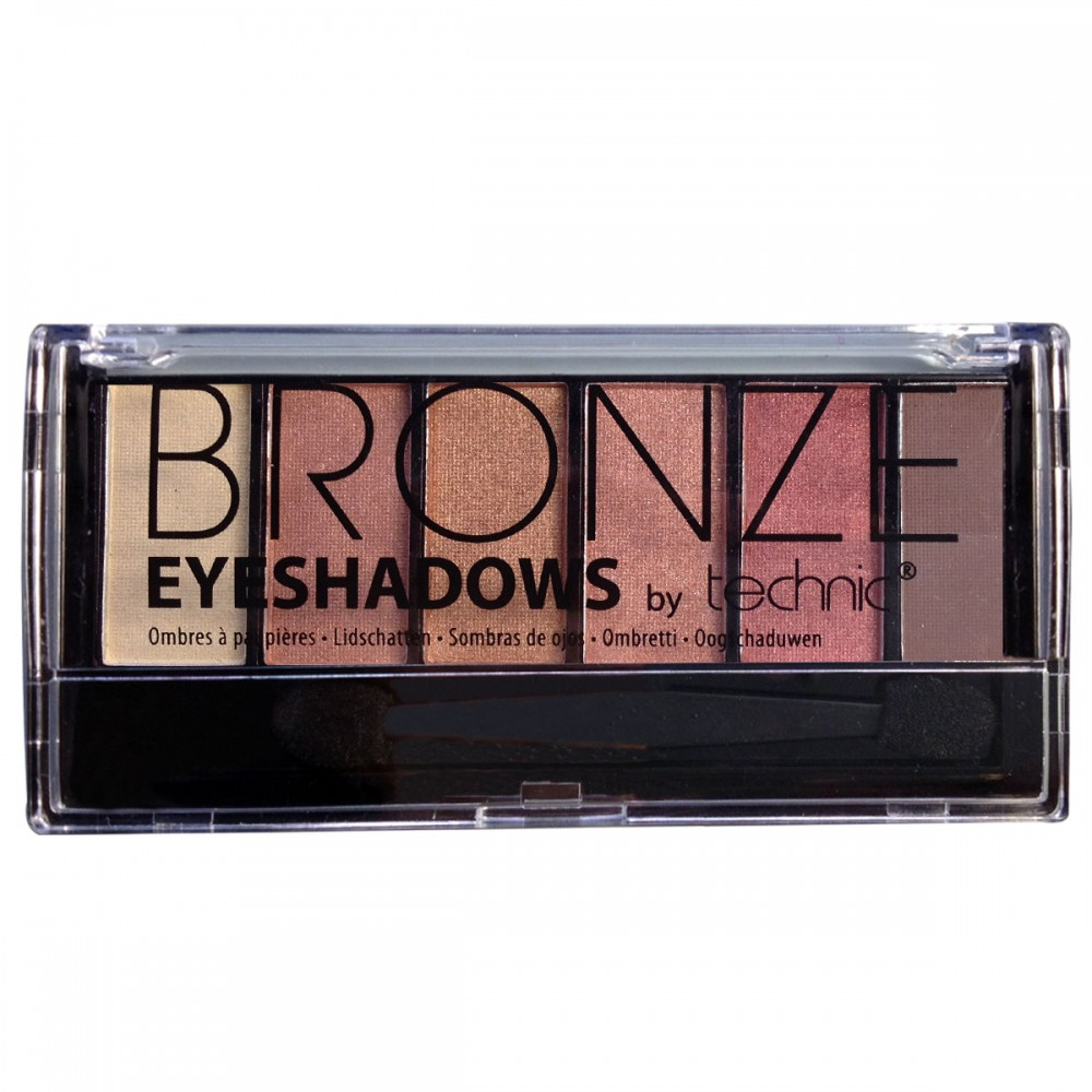Technic Eye Shadows, Bronze