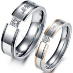 silver rings for couple