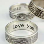 love couple promise ring