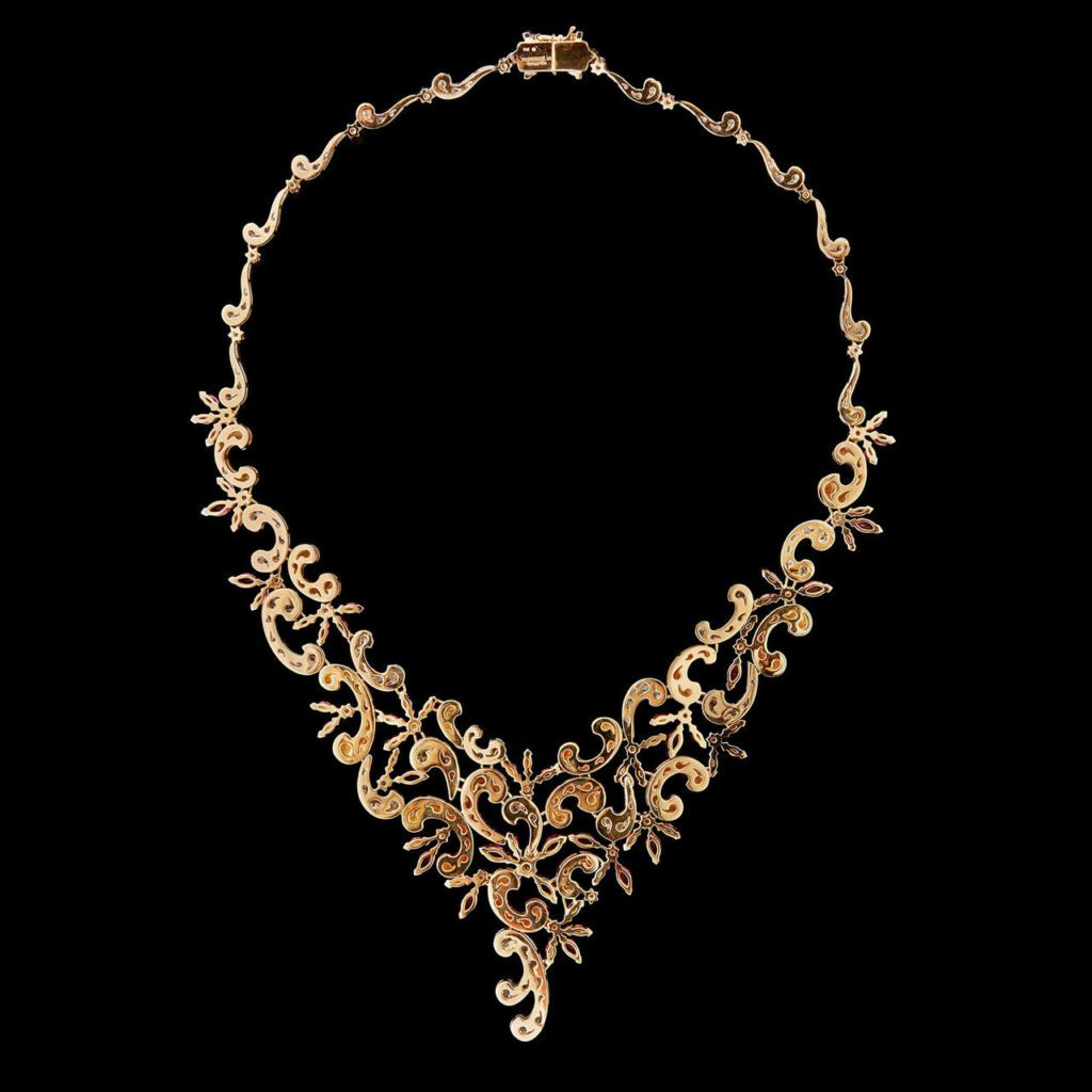 images indian south jewelry plated search children traditional simple choker gold designs necklace culcutta design online