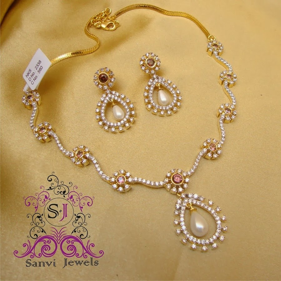 Gold necklace design-Simple necklace of gold - ANextWeb