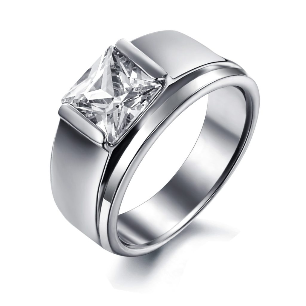 promise ring finger for men