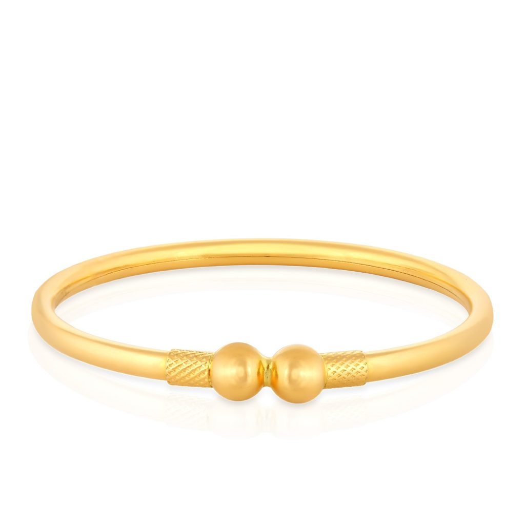 bangle safety traditional girls classic plated itm bracelet girl bangles plain b gold baby