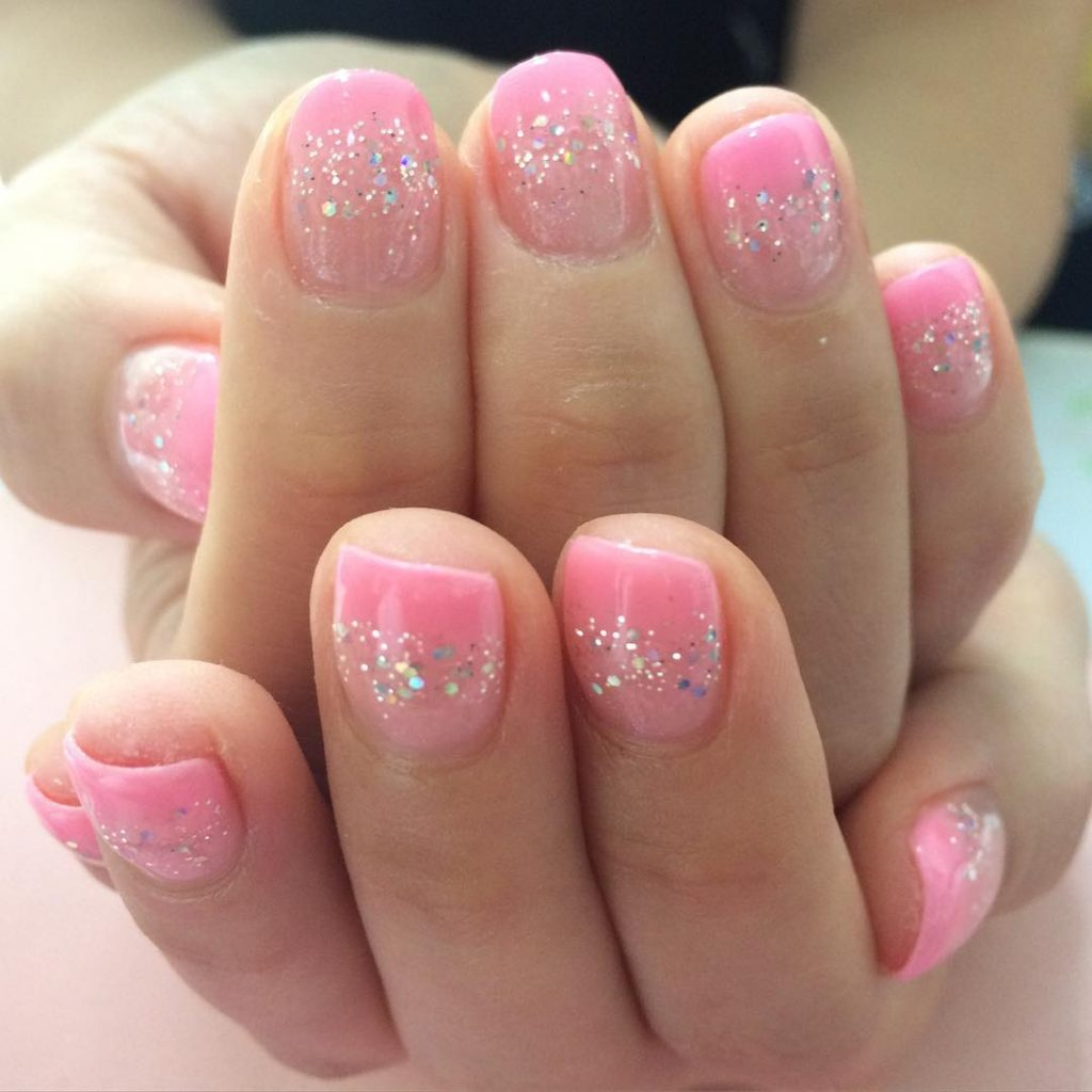 Light Pink Nail Art Designs Gallery Hession Hairdressing