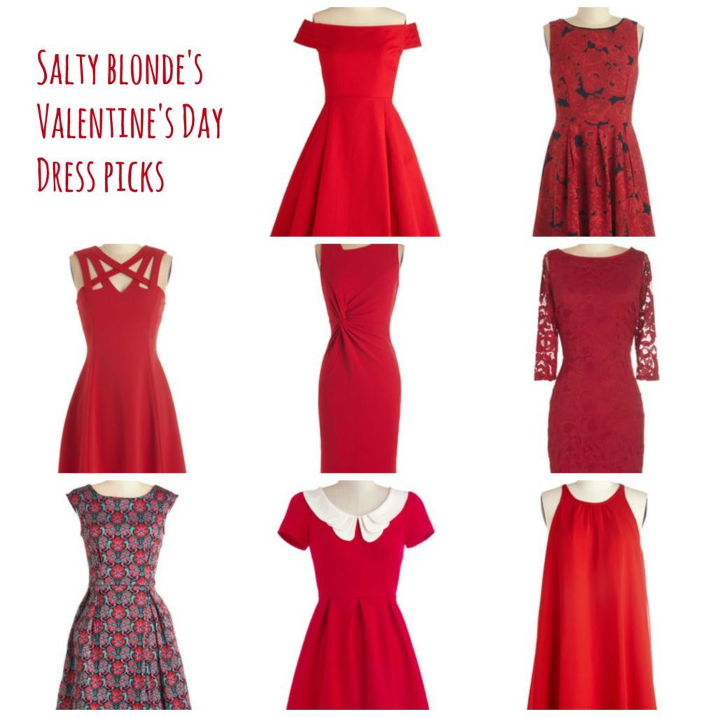 Beautiful Red Dress Outfits For Valentine's Day