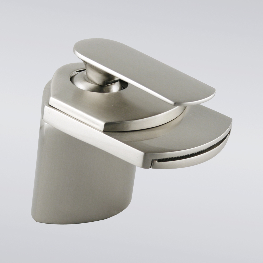 brushed-nickel-waterfall-bathroom-sink-faucet-bathroom-bathroom-sink ...
