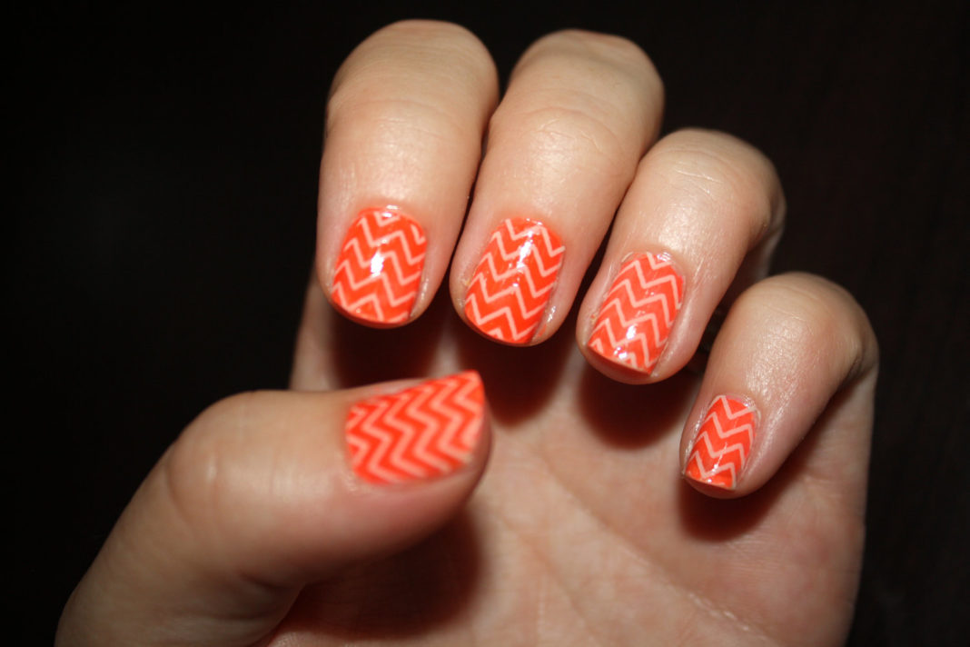 Orange Nail Art Anextweb