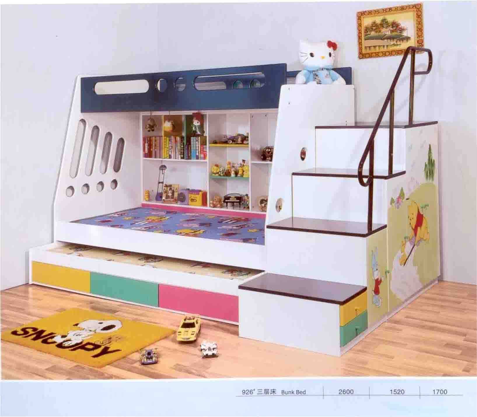 Slide Ikea White Bunk Beds With Desk