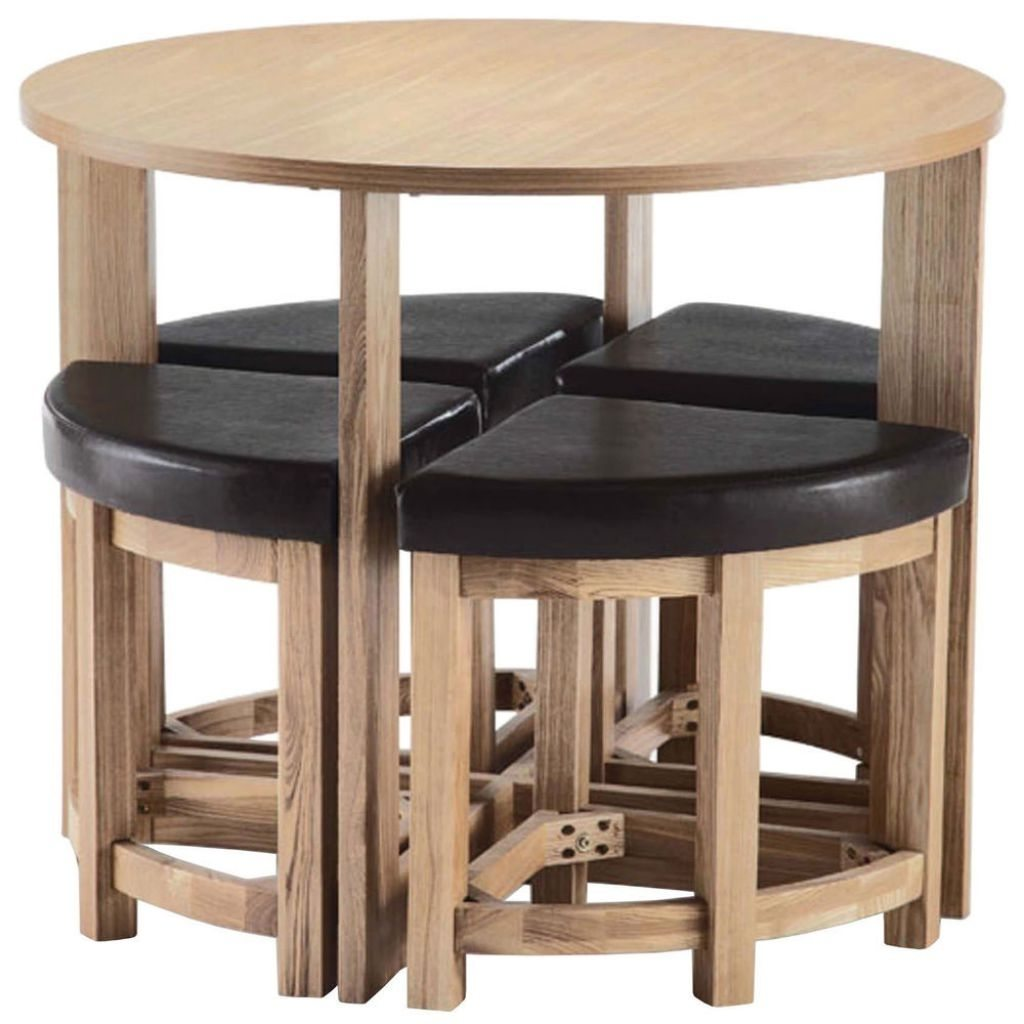 round kitchen tables for small spaces