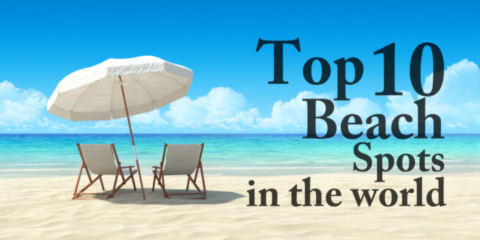 10 top beach vacation spots in the world anextweb for Top 10 vacation destinations