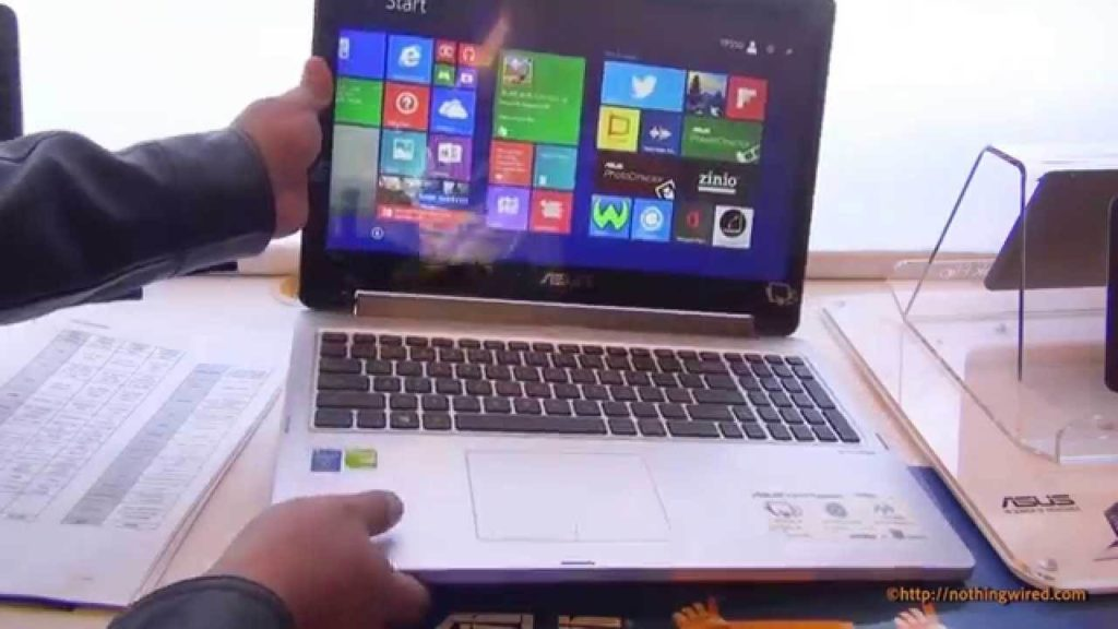 Asus touchscreen transformer Book Flip 15.6