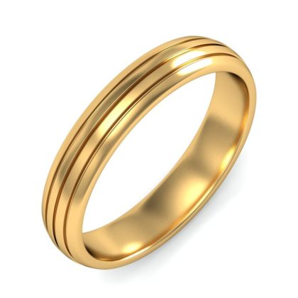 Simple Rounded ring for decent party