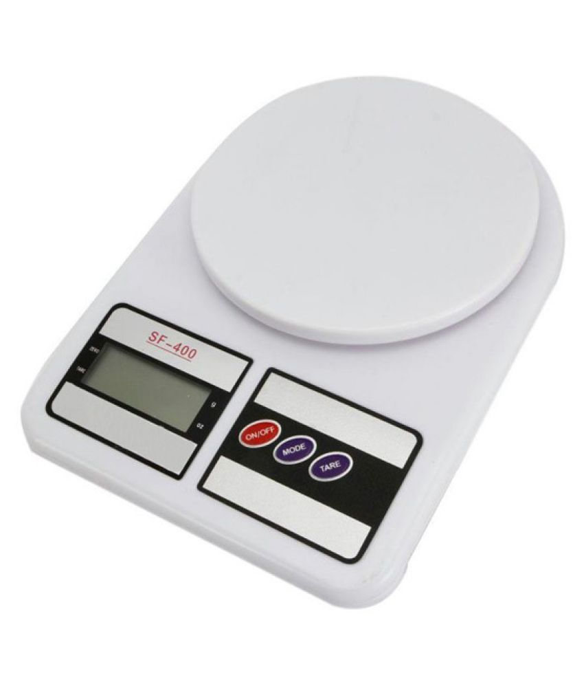 Absales Electronic Digital Kitchen Weighing Scale - White
