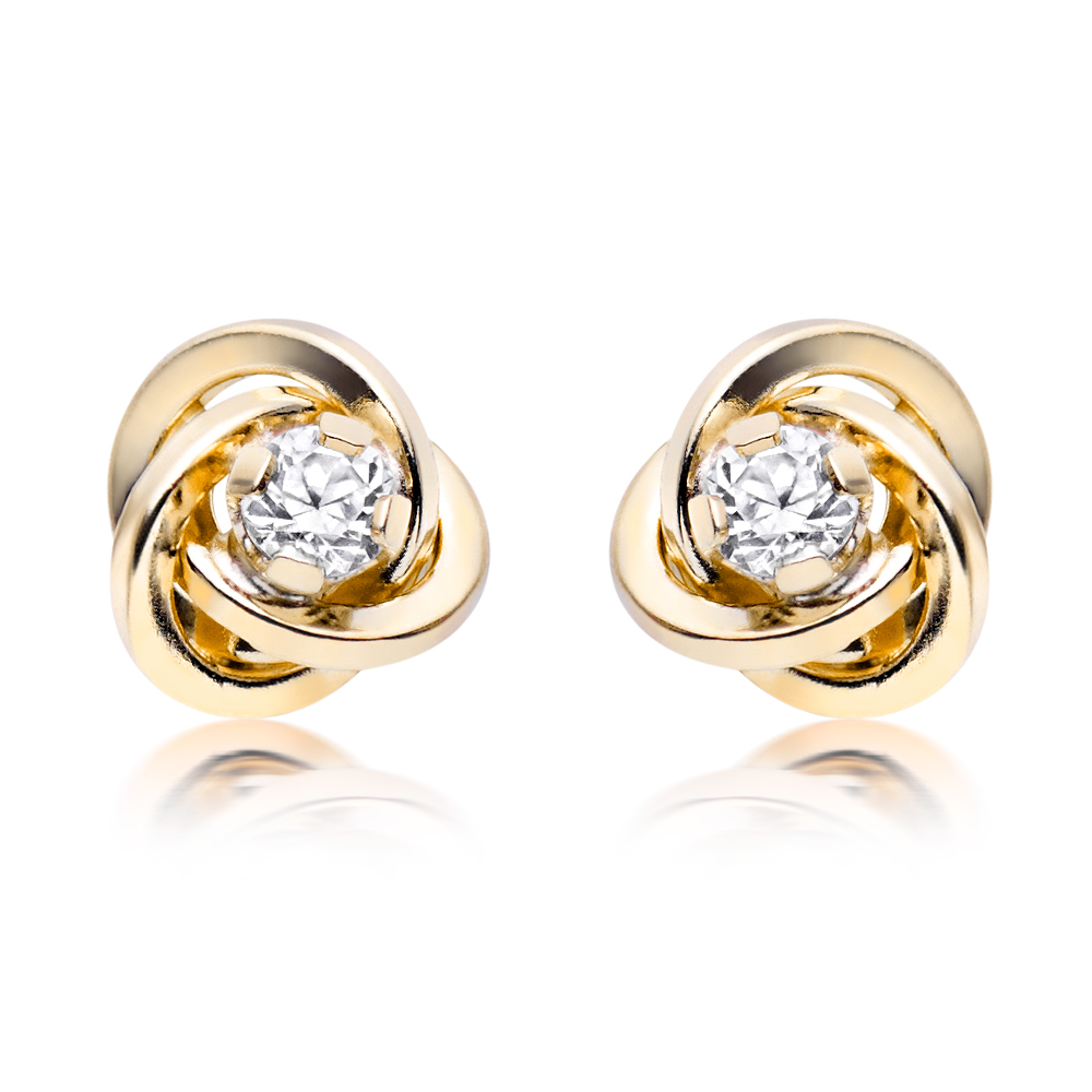 Simple Gold Stud Earrings Anextweb