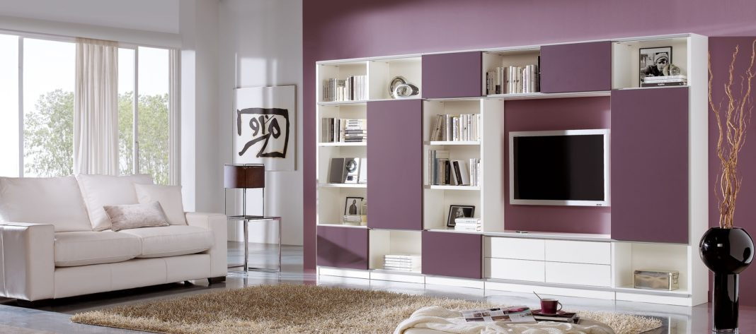 Living Room Wall Cabinet Designs Tv