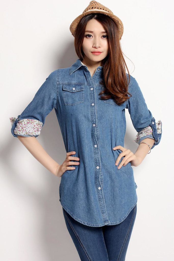 tops for girls on jeans